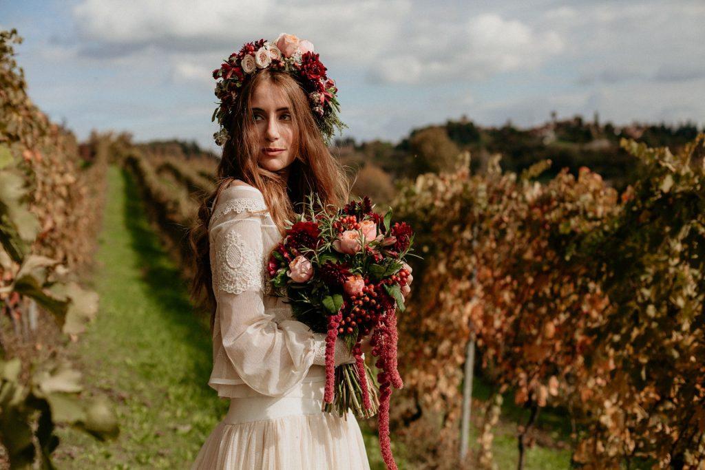 Matrimonio in vigna nelle Langhe