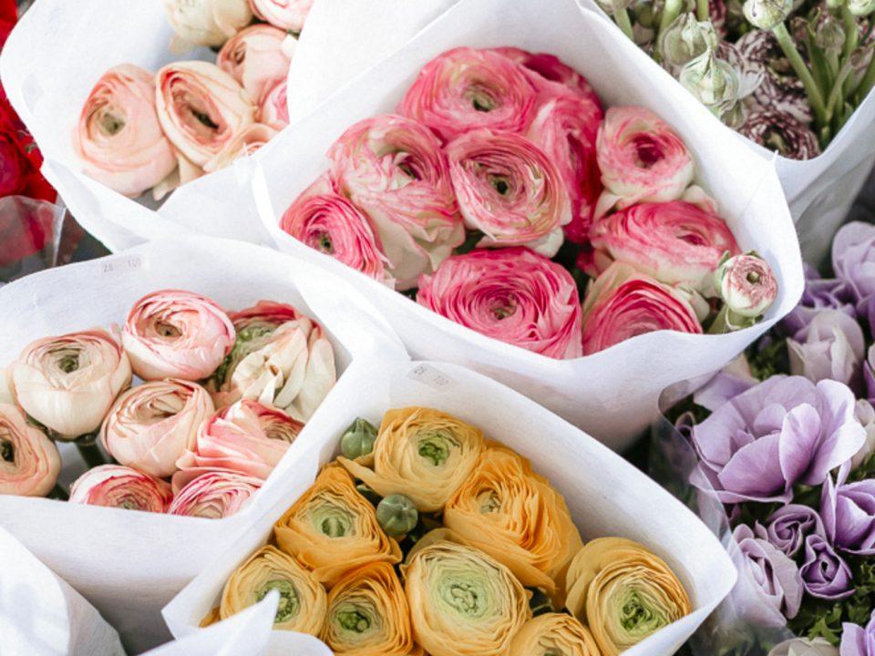 Mazzo di fiori per matrimonio in Primavera