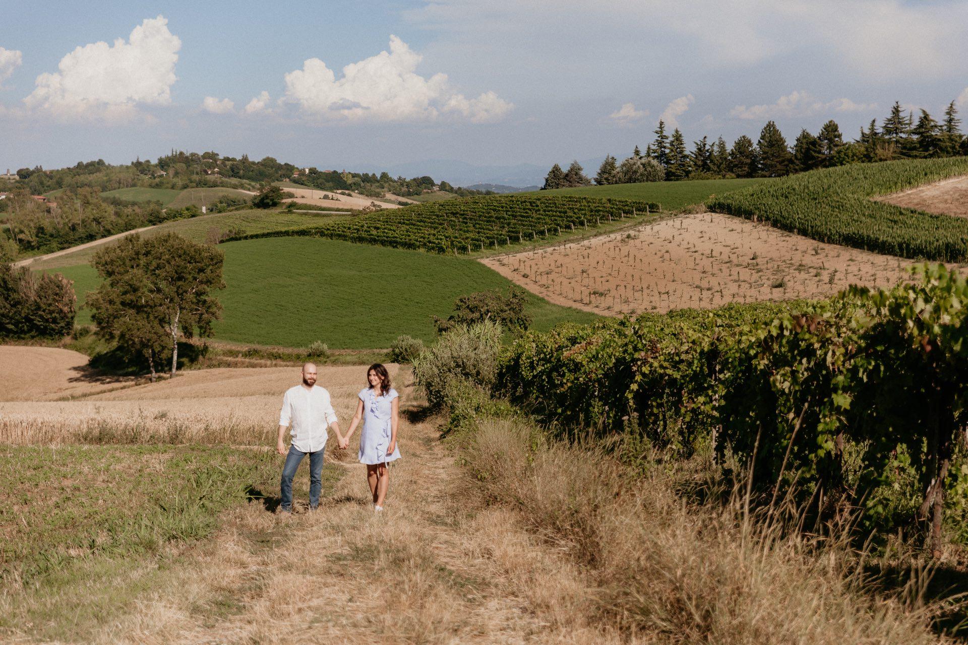 Servizio prematrimoniale nel Monferrato: Sara e Matthieu - Tiziana Gallo Fotografa