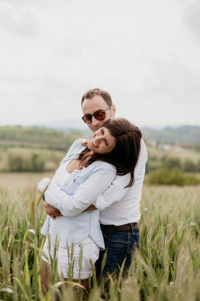 Servizio prematrimoniale nel Monferrato: Valentina e Giuliano - Tiziana Gallo Fotografa
