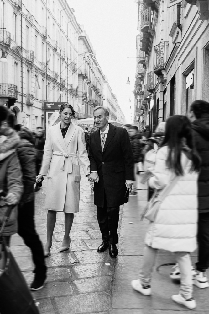 Matrimonio civile a Torino: Elena e Paolo